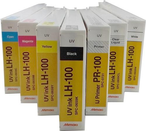Mimaki Tinte LH-100 und Primer