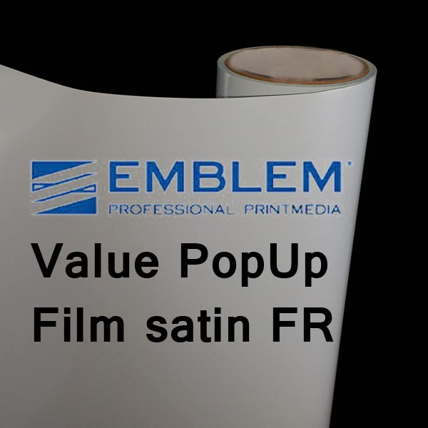 Value PopUp Film satin - FR