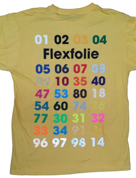 Flex FXP - dünn - OPAK - Metallic