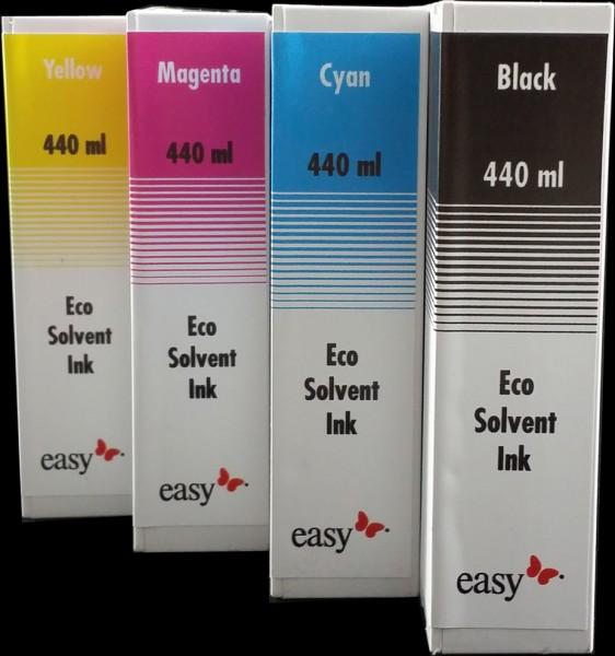 Roland Tinte Eco Solvent Exact Komplettsatz