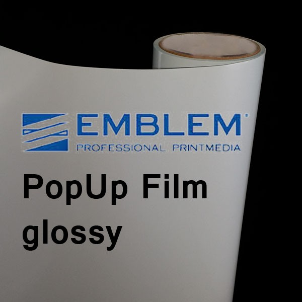 PopUp-Film glossy