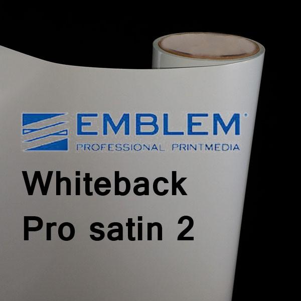 Whiteback Pro 2 satin