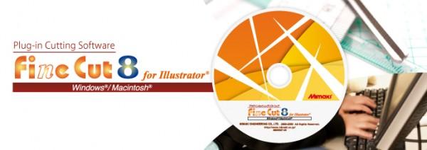 Finecut Mimaki-Schneideplugin für Adobe Illustrator und CorelDRAW