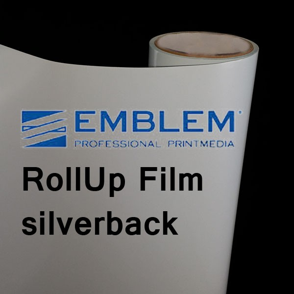 RollUp-Film silver-back